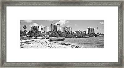 Boat For Sure Framed Print
