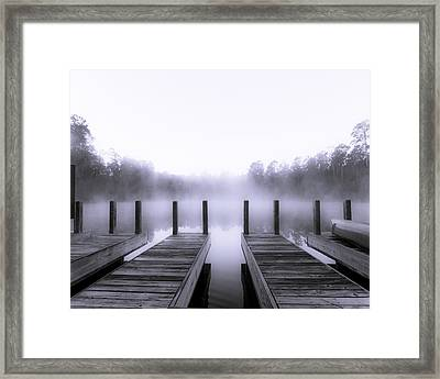 Boat House Framed Print by Mary Sparrow
