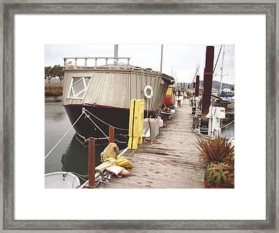 Boat House Framed Print by Hiroko Sakai