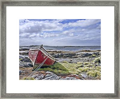 Framed Print featuring the photograph Boat by Hugh Smith