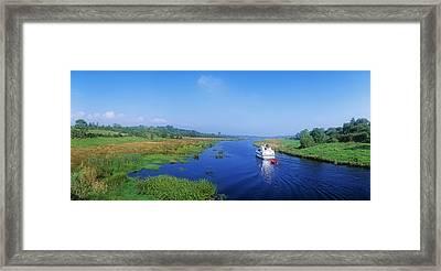 Boat In The River, Shannon-erne Framed Print