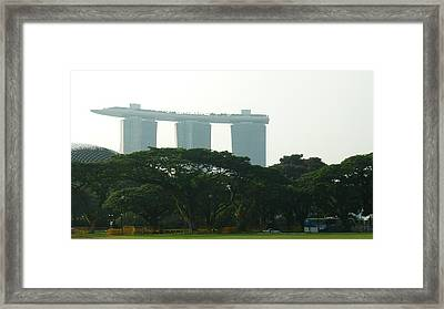 Framed Print featuring the photograph Boat In The Sky by Therese Alcorn