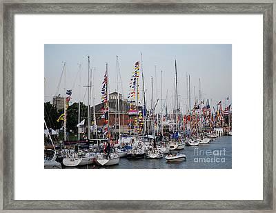 Boat Night Framed Print