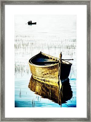 Boat Framed Print by Okan YILMAZ