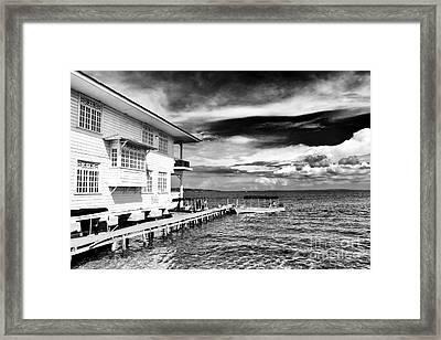 Boat Ride In Bocas Framed Print