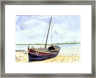 Boat Framed Print by Saurav Das