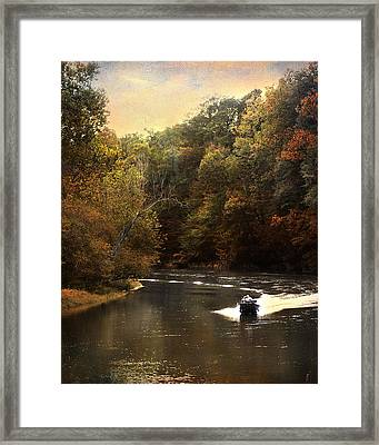 Boating On The Hatchie Framed Print by Jai Johnson