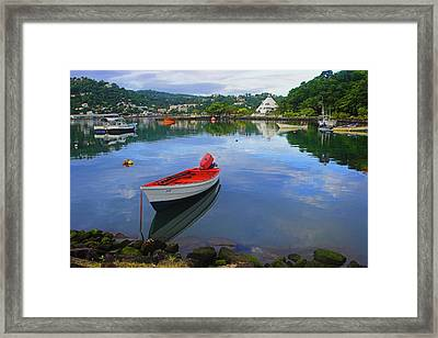 Framed Print featuring the photograph Boats-castries Harbor- St Lucia by Chester Williams