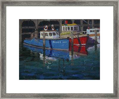 Boats Napier 1982 Framed Print