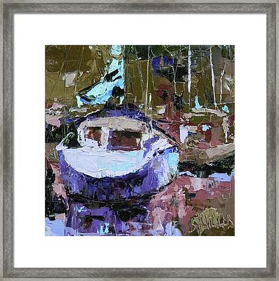 Boats Of A Different Color Framed Print