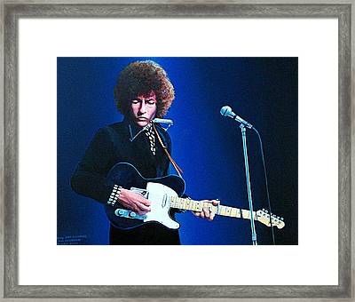 Bob For Suzanne Framed Print by Tim Johnson