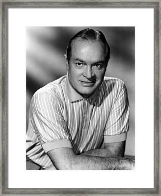 Bob Hope, 1950s Framed Print by Everett