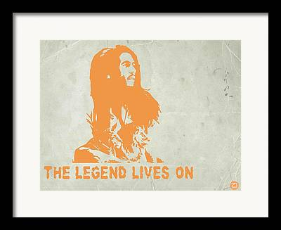 Great Collection Of Art Portraying Some Of The Most Famous Musicians Framed Prints