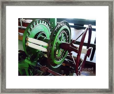 Bobbin Battery Framed Print by Bruce Wood