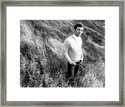 Bobby Vee, Ca. 1968 Framed Print by Everett