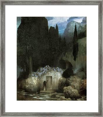 Bocklin's Tomb Framed Print