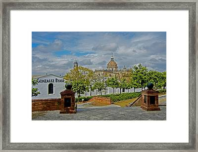 Bodegas Gonzalez Byass - Tio Pepe Framed Print by Juergen Weiss