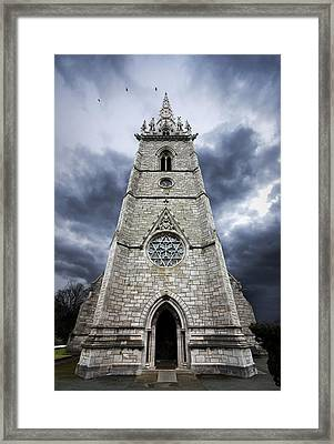 Bodelwyddan Church Framed Print by Meirion Matthias