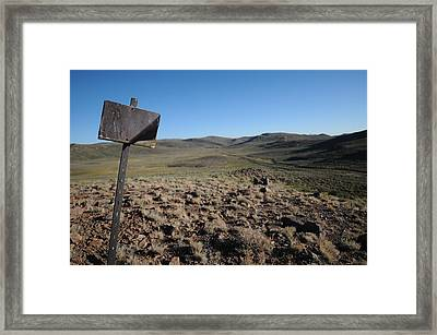 Bodie 01 Framed Print by Earl Bowser