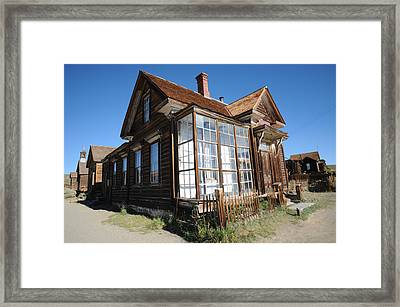 Bodie 02 Framed Print by Earl Bowser