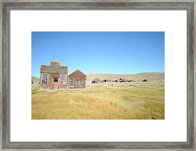 Bodie 04 Framed Print by Earl Bowser