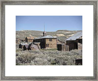 Bodie Cabins 2 Framed Print by Philip Tolok