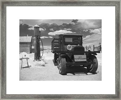 Bodie California - A Trip Back In Time Framed Print