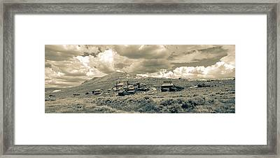 Bodie Ghost Town California Gold Mine Framed Print