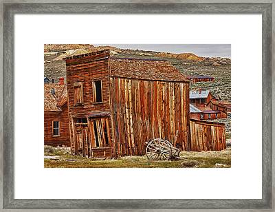 Bodie Ghost Town Framed Print by Garry Gay