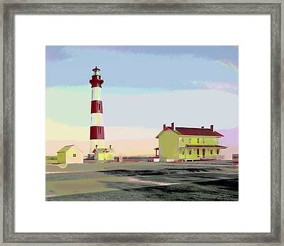 Bodie Island Light Station Framed Print by Charles Shoup