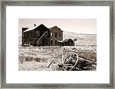 Bodie-still Standing Framed Print