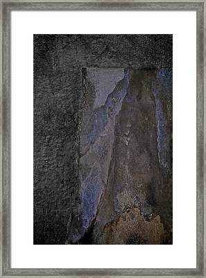 Body Becomes Spirit Framed Print by Odd Jeppesen