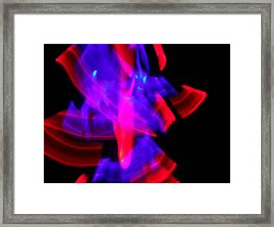 Body Movin' 8 Framed Print by Cyryn Fyrcyd