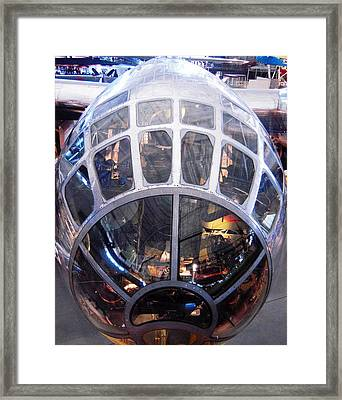 Boeing B-29 Enola Gay At The National Air And Space Museum Framed Print by Don Struke