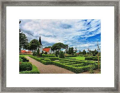 Bogense Church Framed Print