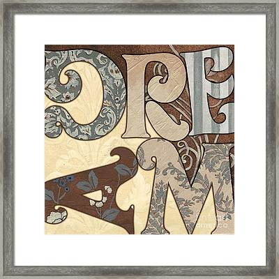 Bohemian Dream Framed Print by Debbie DeWitt