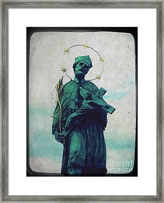 Bohemian Saint Framed Print