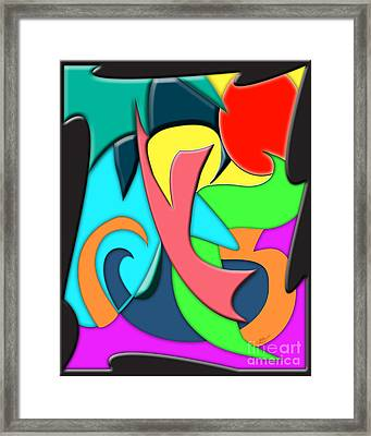 Bold Framed Print by Linda Seacord