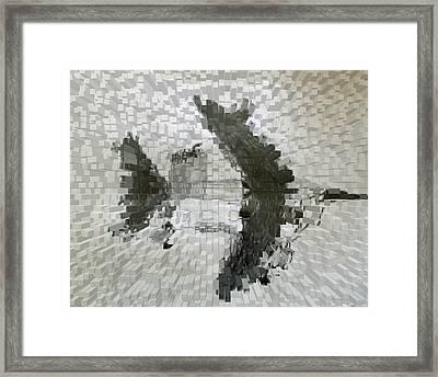 Bomber Framed Print by Alexander Wahl