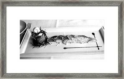 Bon Appetit  2 Framed Print by Tanya  Searcy