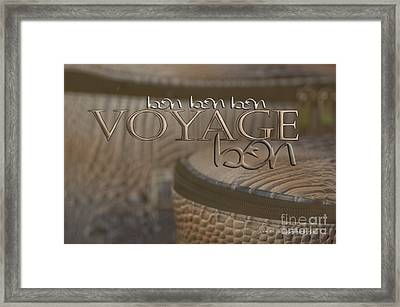 Bon Voyage Framed Print by Vicki Ferrari Photography