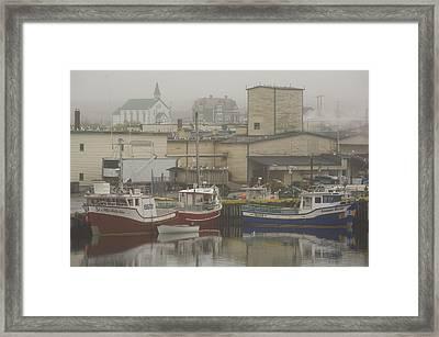 Bonavista, Newfoundland And Labrador Framed Print by John Sylvester