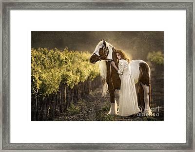 Bonded Framed Print by Patty Hallman