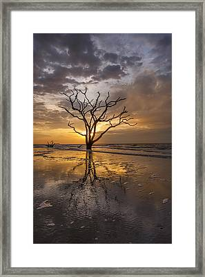 Boneyard Sunrise Framed Print by Joseph Rossbach