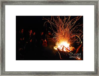 Bonfire Framed Print by Syed Aqueel