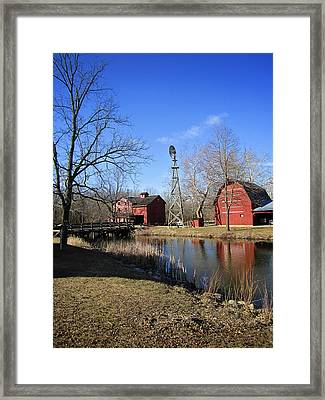 Bonneyville Mill Framed Print