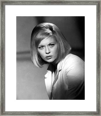 Bonnie And Clyde, Faye Dunaway, 1967 Framed Print