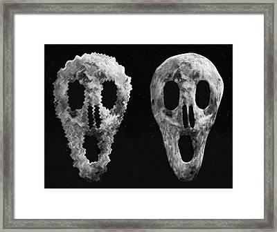 BOO Framed Print by Eric Kempson
