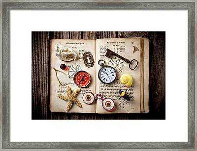 Book Of Mystery Framed Print