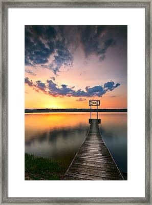Booker T Dock 1 Framed Print by Steven Llorca
